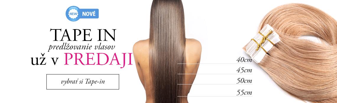 Tape-in predlžovanie vlasov