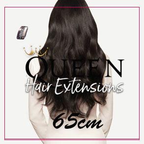 Clip-in vlasy Queen 65cm - 300g - Nové