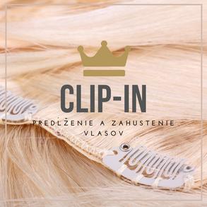 Clip in vlasy - NaničVlasy.sk