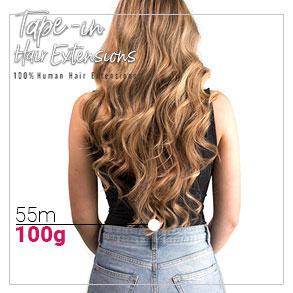Tape in vlasy 55cm