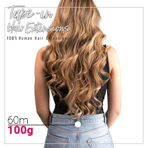 Tape in vlasy 60cm