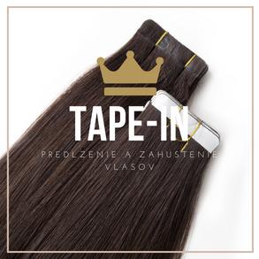 Tape-in vlasy - NaničVlasy.sk