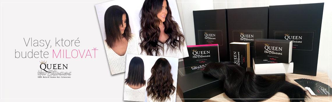 Clip in vlasy Queen - Nanicvlasy.sk