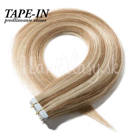 Tape-in vlasy na paske