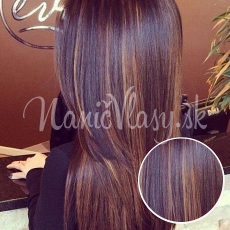 Clip-in vlasy odtieň #1B/30