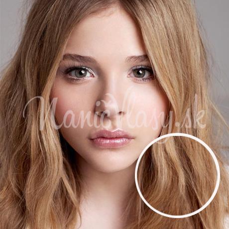 Clip-in vlasy jahodova blond
