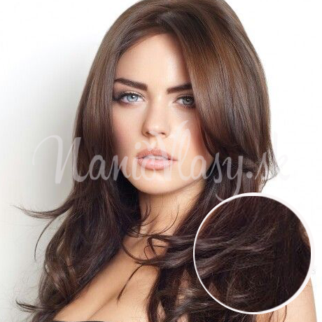100% ľudské vlasy