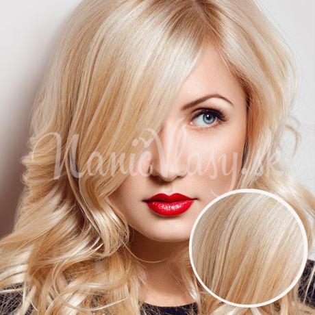 Clip in vlasy Najsvetlejšia blond