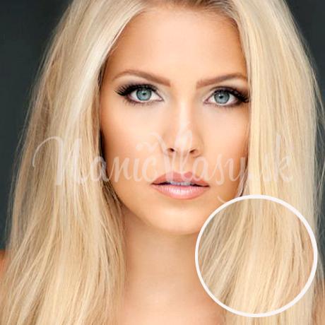 Clip in vlasy Svetla blond