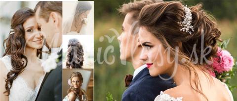 clip in vlasy na svadbu