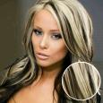Clip-in vlasy odtieň #1B/613
