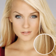 Clip in vlasy Premium, spinava blond