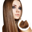 Clip-in vlasy Premium odtieň Strednehnedá