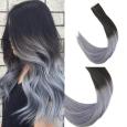 Tape-in vlasy ombre