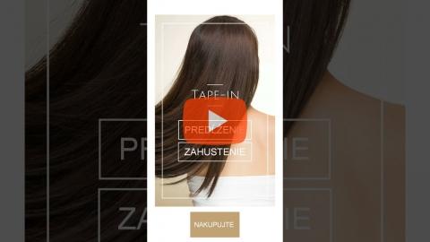 Embedded thumbnail for Tap-in vlasy - Predĺženie a zahustenie vlasov