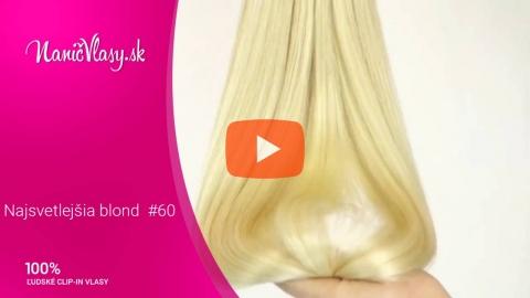 Embedded thumbnail for Najsvetlejšia blond #60
